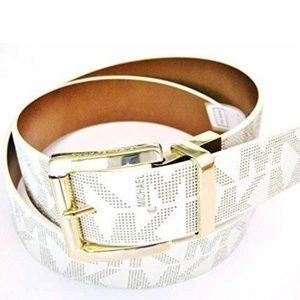 ⚡NWT⚡ Michael Kors White Belt Large